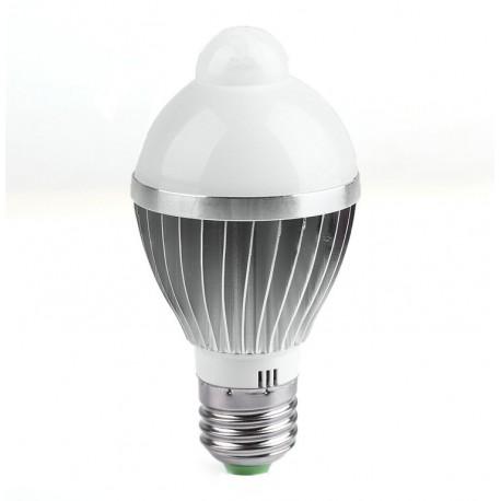 Led sensorinė lemputė E27/7w-650lm/SMD5730
