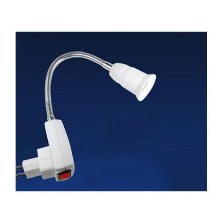 Lankstomas E27 lempučių adapteris į 220V elektros srovę