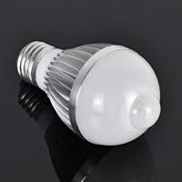 Led lemputė su judesio davikliu E27/9w-990lm/SMD5730