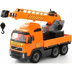 """Sunkvežimis """"Volvo"""" su kėlimo kranu"""