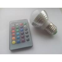 Led lemputė RGB 3w