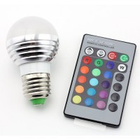 Led lemputė RGB-5w